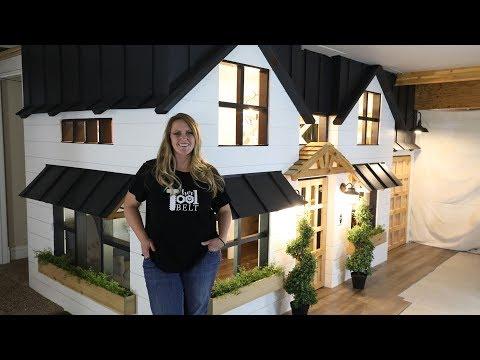 Modern Farmhouse Tinyhouse Basement Playhouse Toy Room Tour