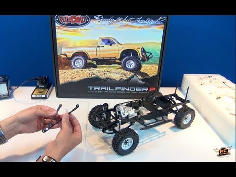 RC ADVENTURES - SCALE RC TRUCK - RC4WD Trail Finder 2 - 4X4 Toyota Hilux - BV2 (Electronics)