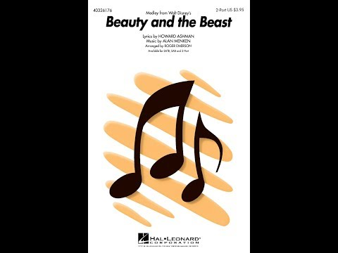 Beauty and the Beast Medley 2Part  Arranged  Roger Emerson