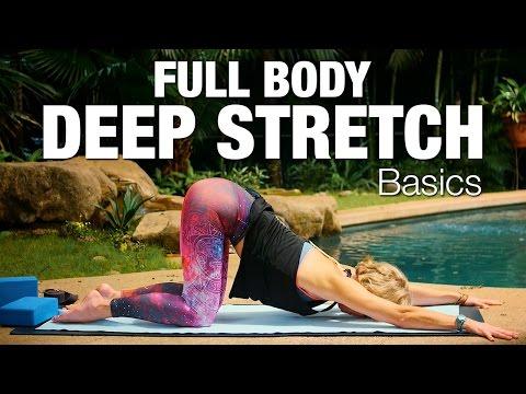 Full Body Deep Stretch Basics 60 min Yoga Class - Five Parks Yoga