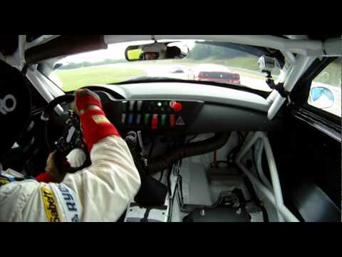 Tävlingsdebut WestCoast Racing BMW Z4 GT3 Ring Knutstorp 28/8 2010 ...