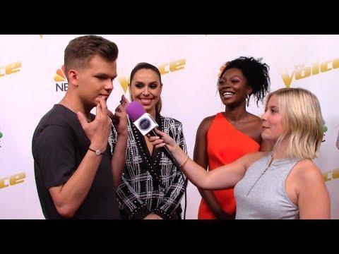 Cover Lagu Britton Buchanan, Christiana Danielle, Jackie Foster | Team Alicia Keys | The Voice Red Carpet Sean STAFABAND