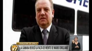 Visión 7: Tragedia de Once: La Cámara revocó la falta de mérito para Mario Cirigliano