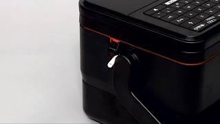 المنتج - P-touch - PT-E850TKW - كيفية إنشاء تسلسل أنابيب التسميات