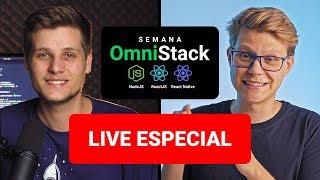 Q&A com Diego sobre JavaScript + Node.js + React + React Native + Expo