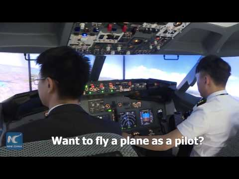 Want to fly a plane as a pilot? Make a visit to China's first AR flight experience  center