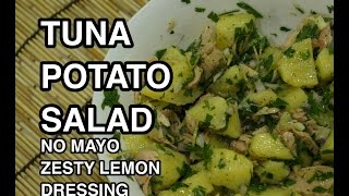 Easy Tuna & Potato Salad Recipe - No Mayo