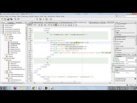 Java Web - Carrito de Compras - ArrayList Vector
