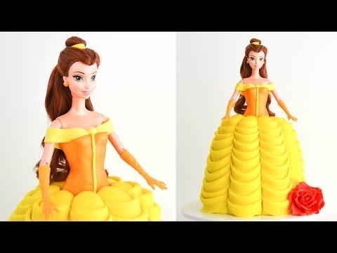 Torta Decorada de la Princesa Bella