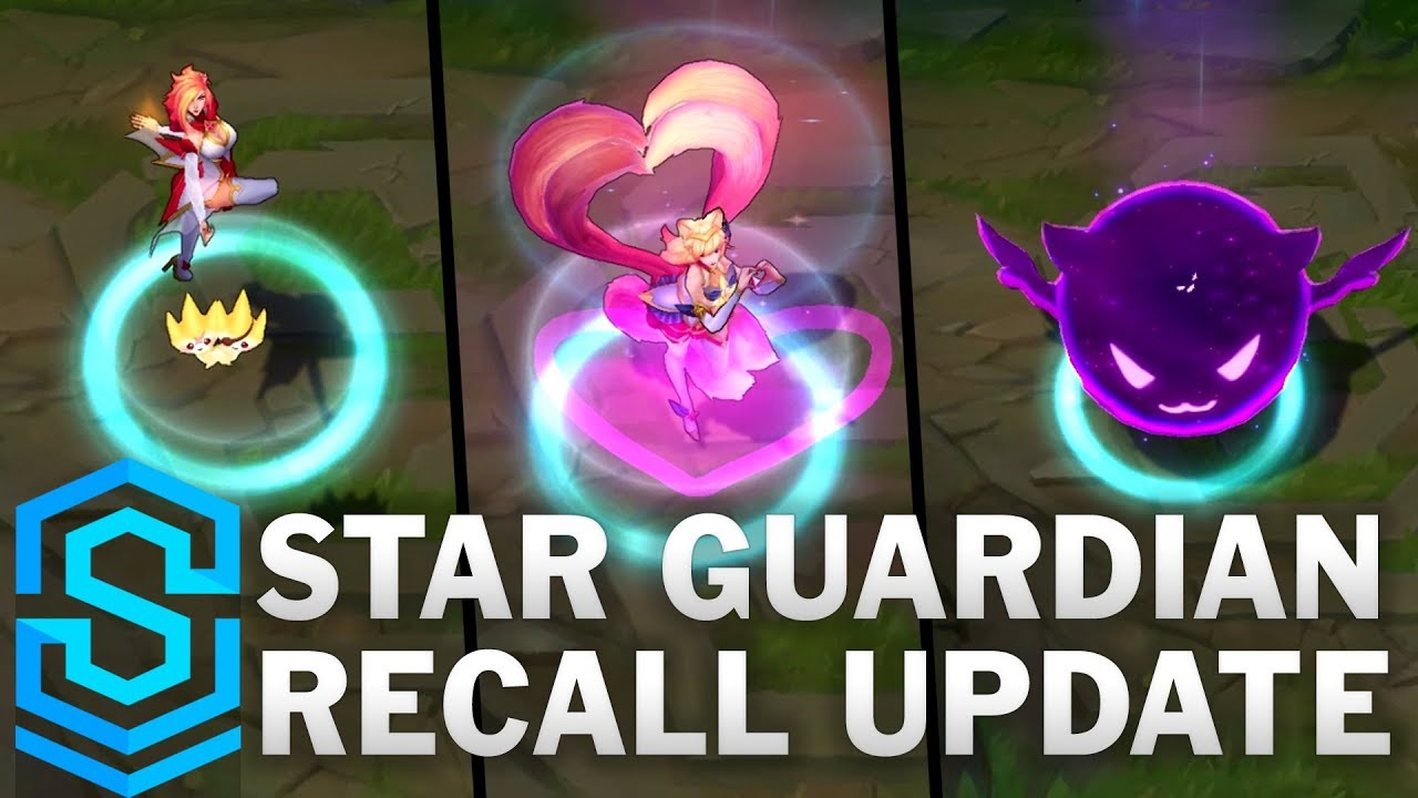 Star Guardian Recall Update [PBE]