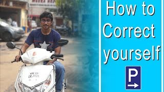 How To Correct Yourself | Best Parking Fail | Marathi Cine Production