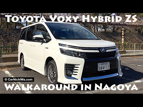 Toyota Voxy Hybrid Zs Walkaround In Nagoya Japan Carnichiwa Com