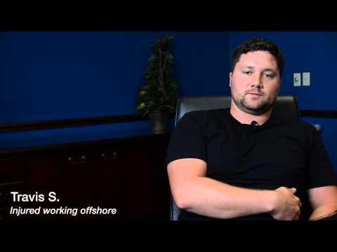 Travis S., apprentice pipefitter, injured offshore