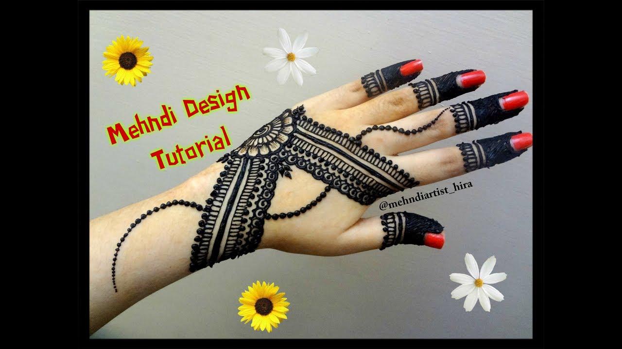 Mehndi Designs Tutorial Youtube : Diy henna designs how to apply easy simple new stylish