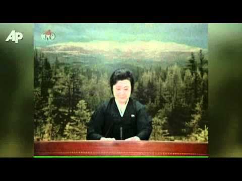 Newscaster Fights Tears Over Kim Jong Il's Death