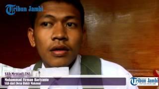 Mengenal Firman SAD Jambi yang Tembus Seleksi TNI