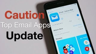 Top Email App Update - Caution, People May Read Your Mail screenshot 5