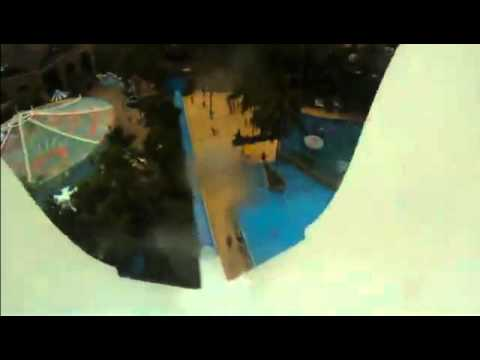 POV The worlds tallest waterslide - Insano, in Brazil
