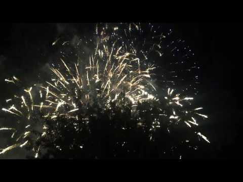 Edinburgh Festival Fireworks 2016