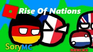 Roblox:Rise Of Nations Germany and France VS Netherlands and UK