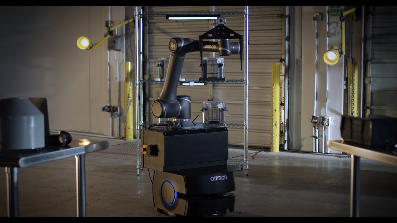 Mobile Manipulator combines a cobot arm with an autonomous mobile robot for flexible production