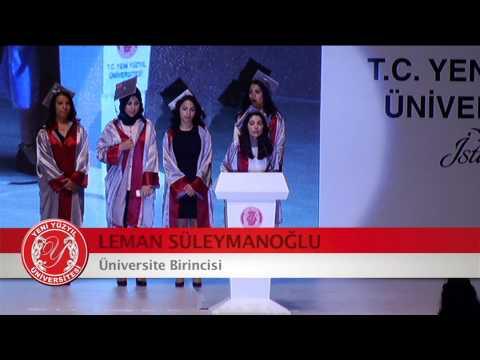 İstanbul Yeni Yüzyıl Üniversitesi  2013-2014 Mezuniyet Töreni