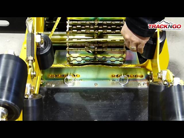 3.2 ADJUSTING ROLLERS GUIDES TO THE WIDTH OF THE TIRE