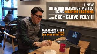 A New Intention Detection Method using Machine Learning with Exo-Glove Poly II