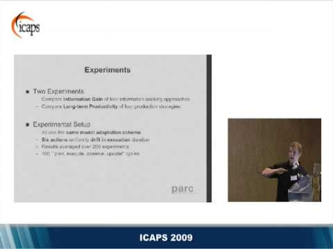 Pervasive Model Adaptation: The Integration of Planning and Information Gathering... (ICAPS 2009)