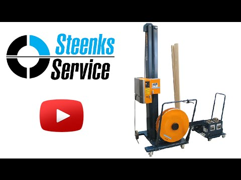 Reisopack 2820 | Lease, hire or buy a mobile strappingmachine | strap with / without cornerboards