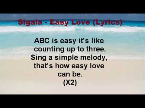 Sigala - Easy Love (Lyrics)