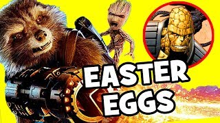 Guardians of the Galaxy Vol. 2 EASTER EGGS You Probably Missed!