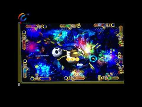功夫熊猫 Kongfu Panda Fishing Game Machine, Shooting Fish Gambling Fish Gaming Table
