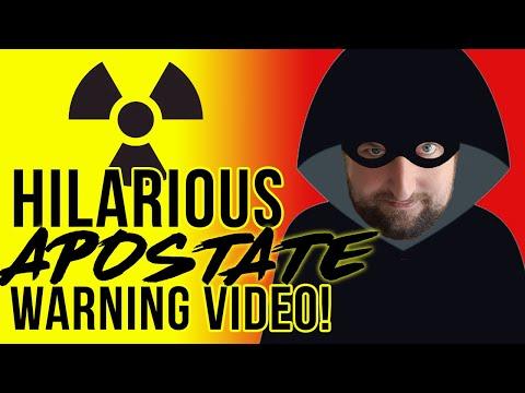 Hilarious Apostate Warning Video!