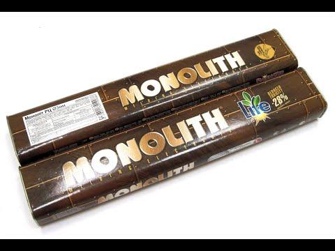 Тест Электродов MONOLITH 2 мм