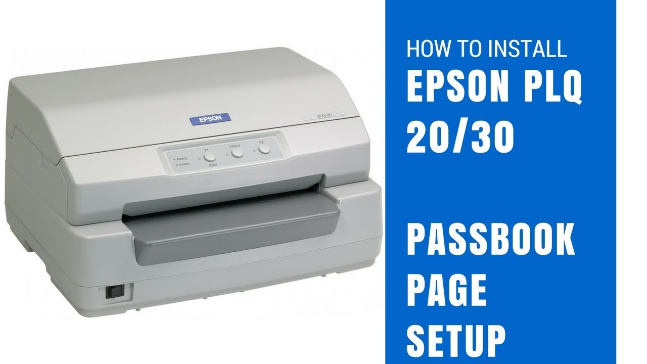 EPSON PLQ-20 ESCP2 TREIBER WINDOWS XP