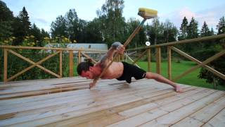 TEN CHALLENGING EXERCISES WITH A STICK | OSKAREAGLE