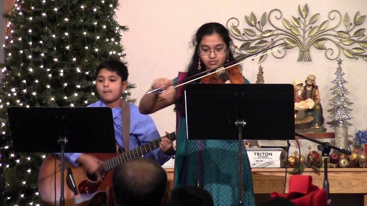 FMTC Christmas Concert - Nikita & Kevin Sade - We Three Kings ...
