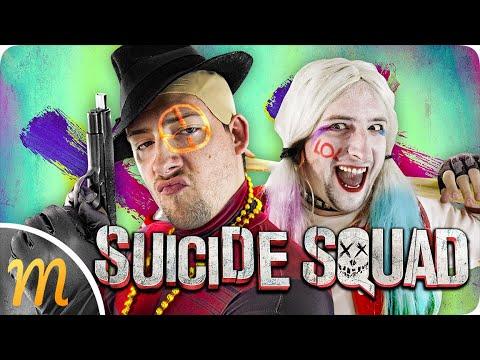 Les pires héros jamais vu ! (même eux le disent) - SUICIDE SQUAD