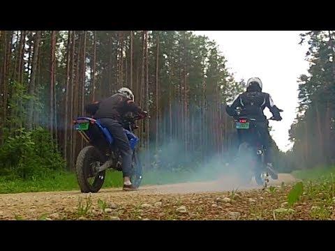 Derbi Senda 80cc vs Stock 50cc