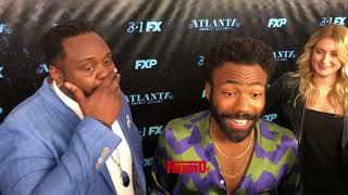 Atlanta Star  Donald Glover Talks most hoodest moment on set