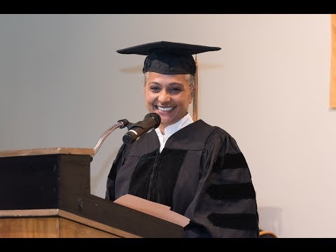 Convocation Speech at St  Thomas Aquinas College by Sister Jenna-INSPIRATIONAL] Authentic Service