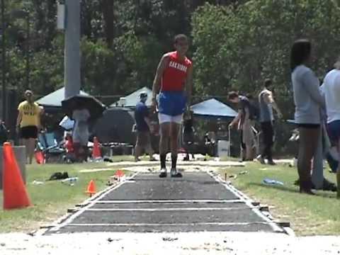 Anthony Munoz-Brown Triple Jump Highlights