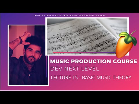 Music Production Course (HINDI) | Lecture 15 |  Basic Music Theory for Electronic Producers