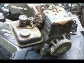 Briggs and Stratton 2HP Engine Disassembly