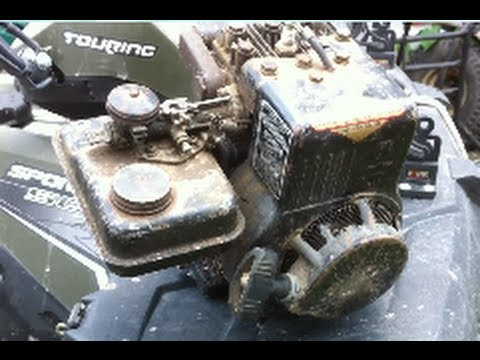 hqdefault briggs and stratton 2hp engine disassembly youtube  at mifinder.co