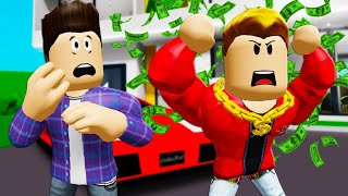 He Met A Rich BRAT In Brookhaven! A Roblox Movie (Brookhaven RP)