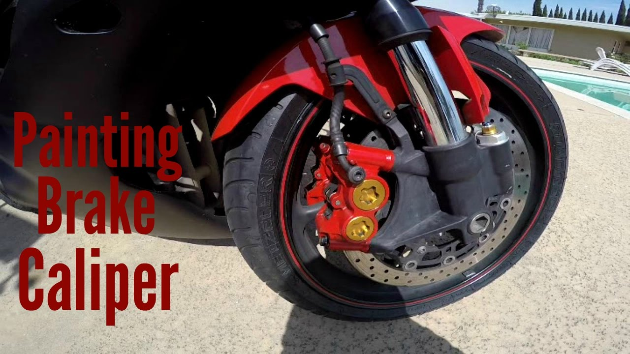 Painting brake calipers - r6 and zx6r