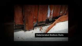 Construction Defect - Wood Fence Defects