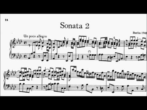 HKSMF 70th Piano 2018 Class 124 Grade 7 CPE Bach Sonata A Flat Wq.49/2 Movt 1 Sheet Music 校際音樂節